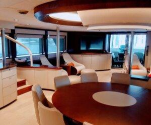 Superyacht Asone Interiors