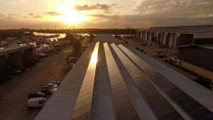 We are one of the largest solar power marine facilities in the world