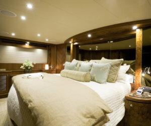 bedroom interior luxury motor yacht wealth